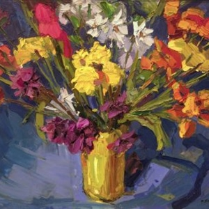 """Still Life with Flowers"""
