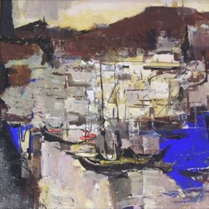 """Vessels at Wharf"""